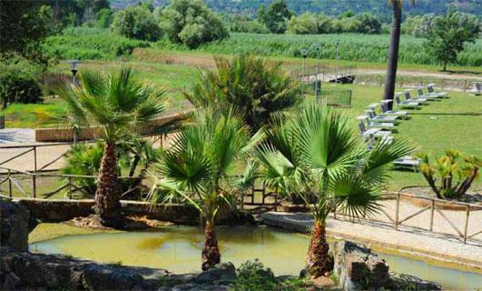 Parco naturale - Terme di Agnano