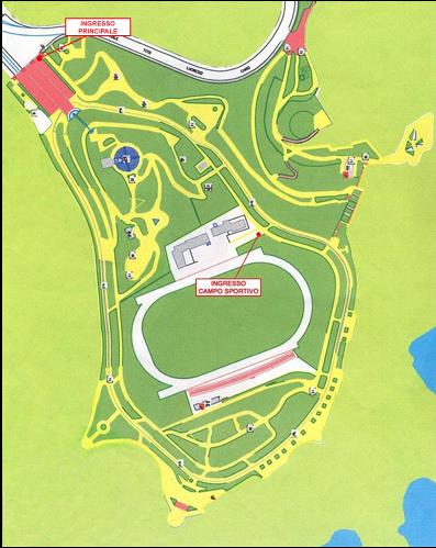 ingresso principale parco virgiliano