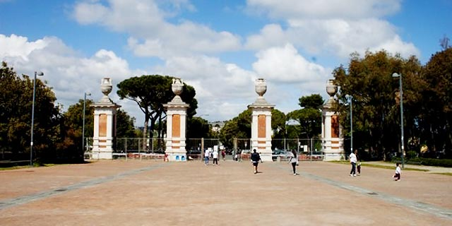 Ingresso del Parco Virgiliano