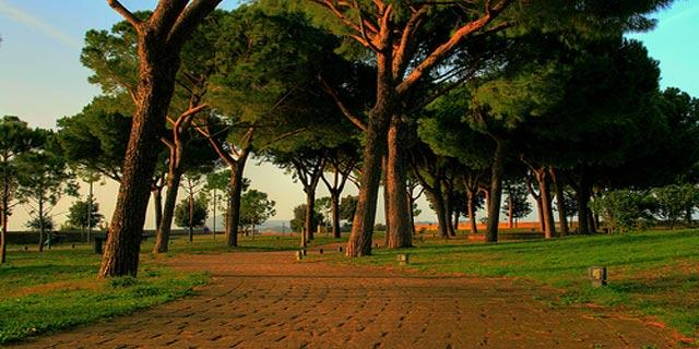 Parco Virgiliano - Viali alberati